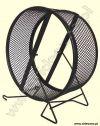 Karuzela metalowa z siatki czarna 25cm